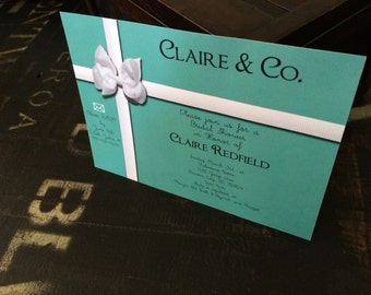Bride & Company Party Invitation
