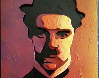 Charlie Chaplin - 3D picture