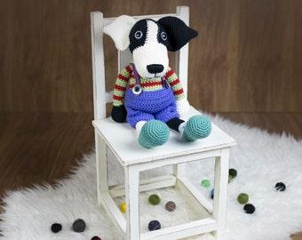 Ollie The Dog, amigurumi dog