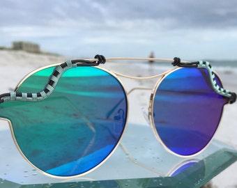 NEW Teal Blue Aviator SunGlasses, Unisex Mens WOmens Sunglasses, Sunglasses uv 400, SPUNGLASSES, Wire Wrapped Sunglasses Eyeglasses,