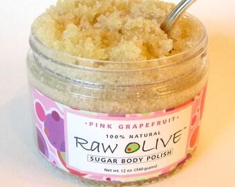 Pink Grapefruit Organic Sugar Body Polish