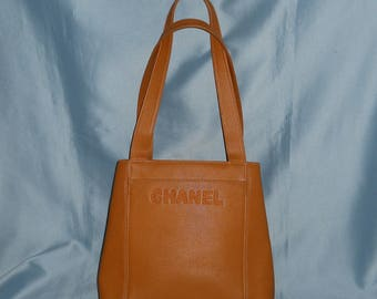 Authentic vintage Chanel bag! Genuine leather!