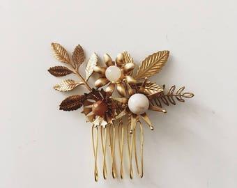 peigne à mini fleurs sauvages, #1506