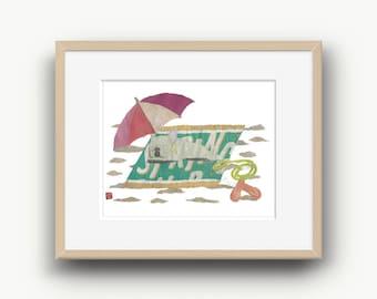 French Bulldog Art, Cream French Bulldog, French Bulldog Gift, Frenchie, Modern Dog Print