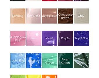 Lady Lucie Latex Colour Chart