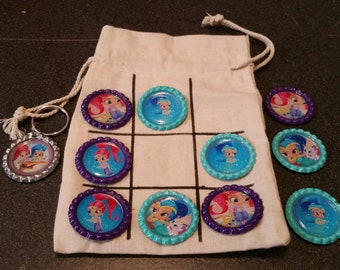 Tic-Tac-Toe On The Go Shimmer & Shine