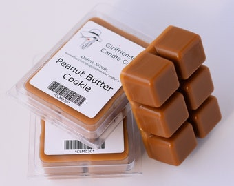 Peanut Butter Cookie Scented Wax Melt Clamshell