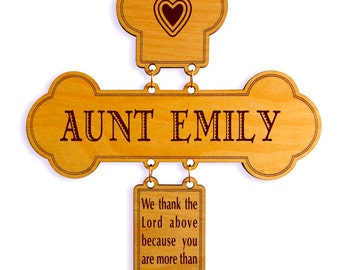 Personalized Gift for Auntie - Aunt Gifts from Niece-Nephew - Aunt Mothers Day - Aunt Birthday - Mother's Day Gift