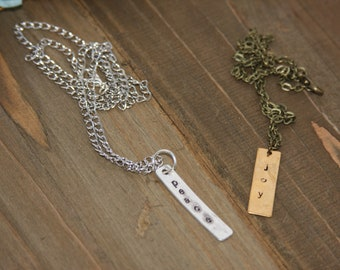 The BAR Collection Necklaces