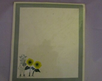 Stationery Dorothy and sunflowes