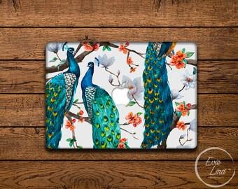 Floral Print Macbook Decal / Macbook Sticker / Stickers macbook pro / Macbook Air Sticker / Macbook Air skin / Laptop decal / EL019
