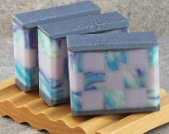 Rosemary Mint Mosaic Soap - Decorative Artisan Soap