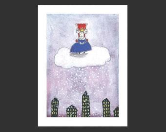 Princess of snow
