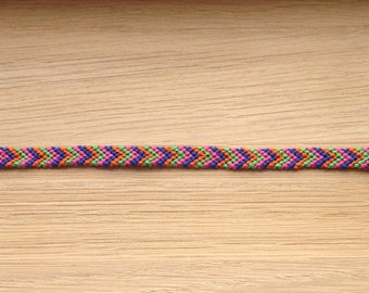 Bright Braided Friendship Bracelet