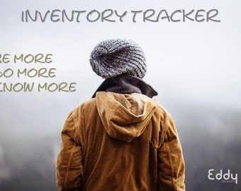 Inventory Tracking Spreadsheet Template - Business Excel Spreadsheet