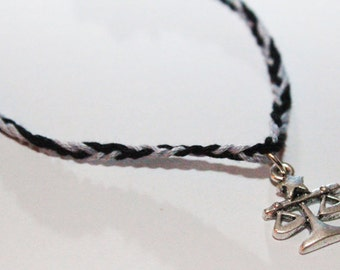 Divergent inspired Candor charm bracelet - Veronica Roth