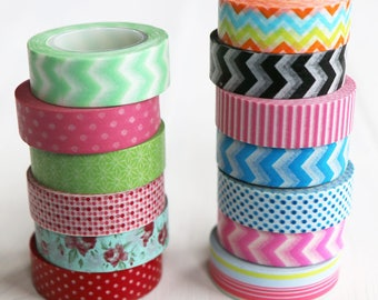 Paper Washi Tape | Paper Tape for Craft, Decoration, Card Making, Scrapbooking & DIY