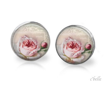 Ear studs of pastellener cherry blossom 3