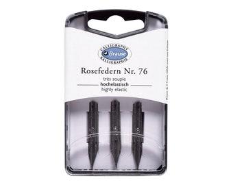Brause Rose 76 Nibs - Set of 3