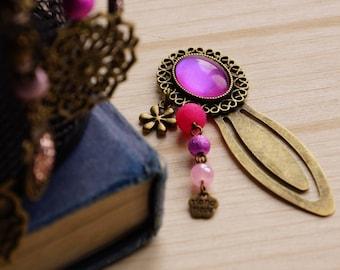 Mini bookmark pink iridescent
