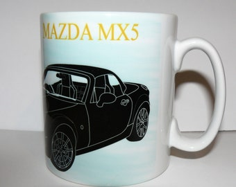 mazda mx5 mug classic sports car