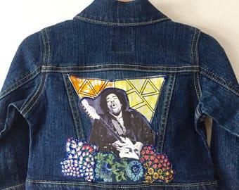 Jimi Hendrix Kids Jean Jacket.