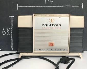 Polaroid print copier