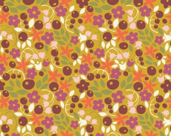 Organic Cotton Fabric - Monaluna Meadow Bitty Blooms