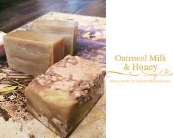 Oatmeal Milk & Honey Soap Bar