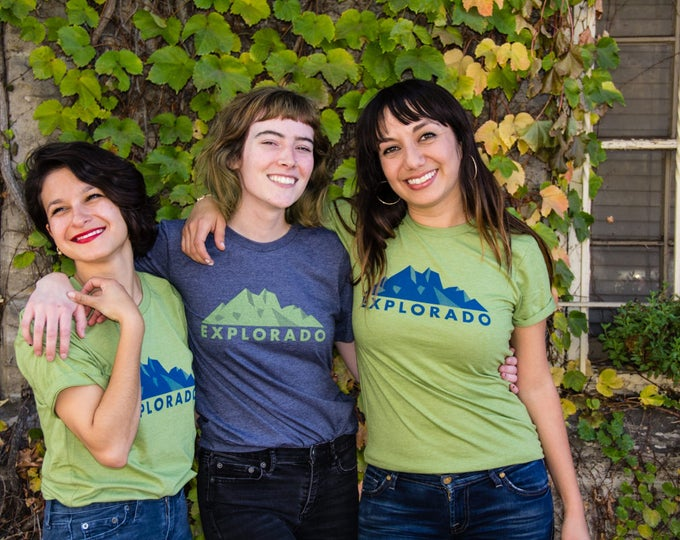Explorado Tee - Because that's what we do here!