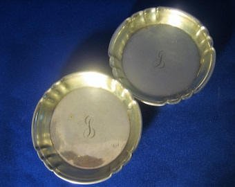 Sterling Silver Nut Cup Set of Two