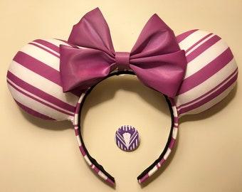 Dapper Dan Purple Ears with Button