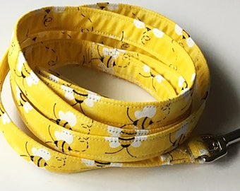 Yellow Bumble Bee Leash for Dogs