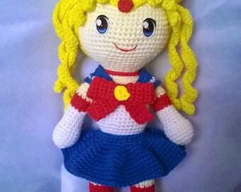 Sailor moon crochet pattern