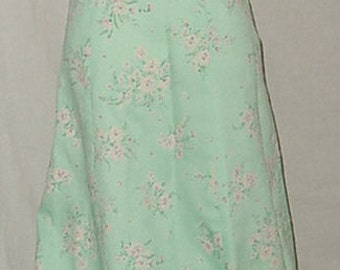 70's vintage long maxi dress prom formal strapless backless junior high 30 bust