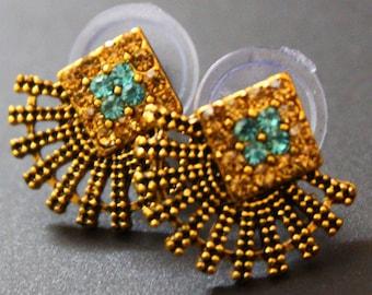Traditional Jewelry Women Ethnic Wear Fashion Earrings Wedding Gift Daily Wear Stud Earrings Jewellery Indian Earrings Gift
