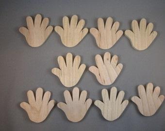 """2 1/4"""" Hands (10)"""