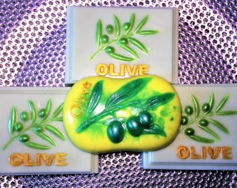 3+1 Olive Soap-Olive Grove-Party Favors-3 Bars of Soap + 1 Bar Gift