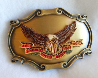 1978 The Right to keep and bear arms belt buckle