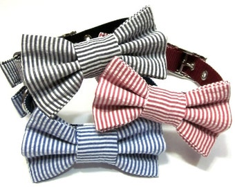 Bowtie Only..... Dog Bowtie, Bow tie Dog Collar, Dog Collar Bow,  Bowtie,  Bow Tie Attachment, Bowtie Dog Collar - CHOOSE YOUR STYLE