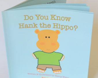 Children's Book - Toddler Story Book - Orange Hippo - Rhyming Kid Book - Toddler Book - Hippo Baby Book - Story Time - Self-Published Book