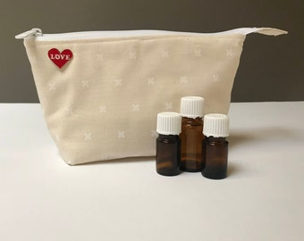 Cotton and Steel X Essential Oil Storage Bag