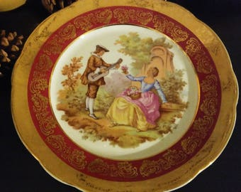Limoges Fragonard Porcelain, France