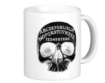 Ouija Board Skull 11oz mug
