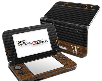 Nintendo 3DS XL Skin - Wooden Gaming System - Sticker Decal Wrap - New 3DS XL - Original 3DS XL