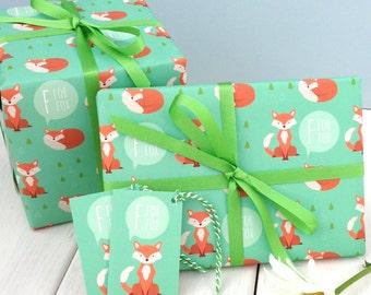 Fox Gift Wrap