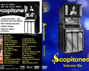 Scopitones Volume 6 (France/italy) Big Hair Cinebox!