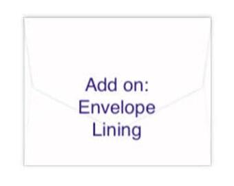 Add on: Envelope Lining