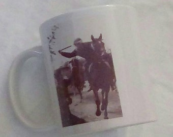 Miners strike police 1984 orgreave mug. New old stock from 2007. Only 1 remaining. Maggie Thatcher dead