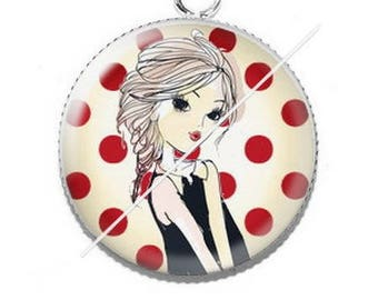 Cabochon 25mm pendant 4 good resolution